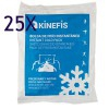 Pack 25 Units - Kinefis Cryo Therm Fast Instant Ice Bag (14x18 cm)