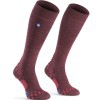 LAST SIZES - Compressport Care Socks Daily Life Socks - Garnet Color (Size L)