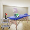 Physiotherapy cabinet New Age Economy ONE: Contains stretcher, magnet therapy, electrotherapy, ultrasound, lamp and cart