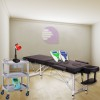 Physiotherapy cabinet Economy New Age TWO: Contains stretcher, magnet therapy, electrotherapy, ultrasound, lamp and cart