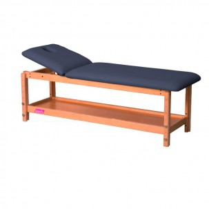 Wooden stretcher 2 bodies and adjustable height 182 x 62 Kinefis Tornea