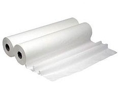 Rolls of paper for stretcher