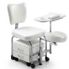 Tendy Pedicure Chair: Equipped with stool and chest of drawers