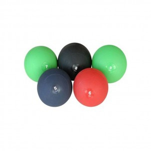 Slam Ball Kinefis Medicinal Balls: Rubber balls with inner sand (weights available)