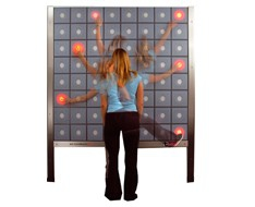 T-Wall: interactive training device