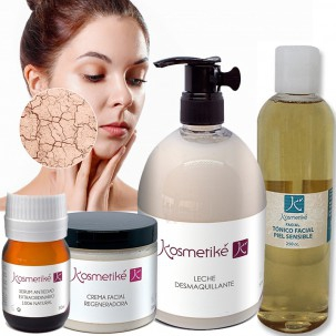 Kosmetike Dry Skin Facial Treatment Cleansing Milk Tonic Anti