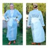 Disposable Robes: Easy to adjust, fast and safe (Pack of 50 units)