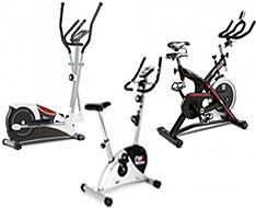 Bicycles - Elliptical - Indoor - Spinning