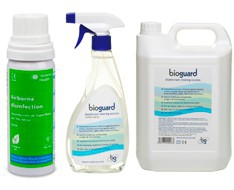 Disinfection of surfaces