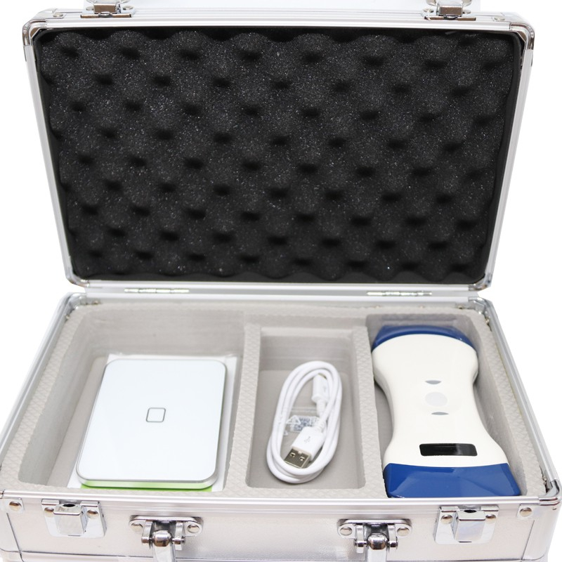 Sonostar dual portable wireless ultrasound: 10 mhz / 128 elements linear probe with color dopler and 3.5 mhz / 128 elements convex probe. connect with smartphone, table - Sonostar sonographs - Echographs - Medical medical material - Fisaude Store