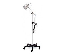 Recognition and examination lamps for podiatrists