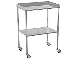 Tables and trolleys for medical specialties