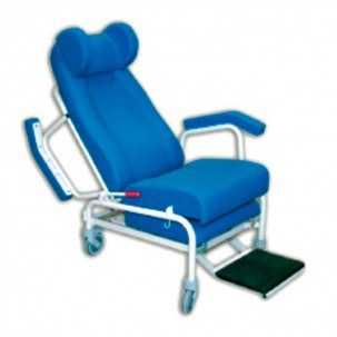 Wingback headboard for clinical geriatric chair and Kinetic Kinefis