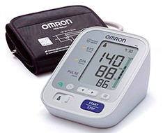 Pulse oximeters, sphygmomanometers and thermometers