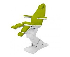 Armchairs and podiatry equipment