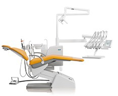 Dental units and equipment: dental chairs + equipment