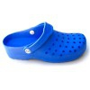 Gruyere Blue Slip Resistant Floating Clogs with COOLMAX® insoles